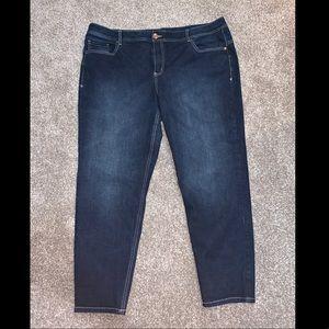 Size 24 skinny jeans